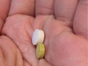 ベジママとベルタ葉酸サプリ01