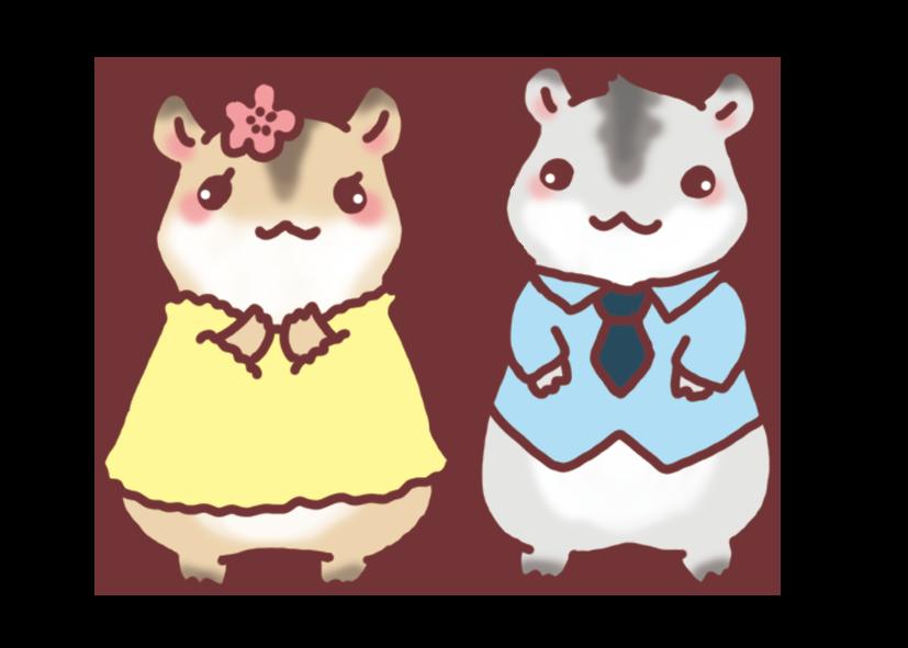 couple-hamster